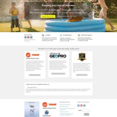 Panther Heating and Cooling Website