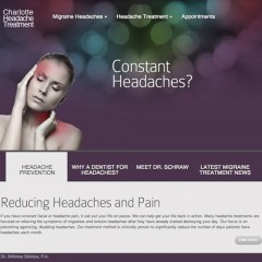 Charlotte Headache Treatment Website